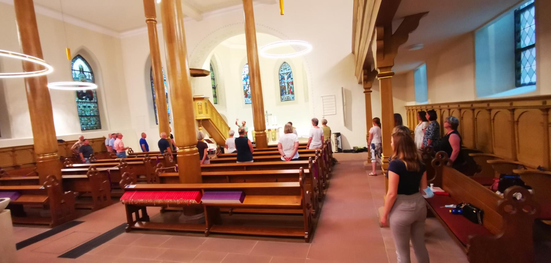 S@H-Chorprobe-Evangelische-Kirche-210720_01