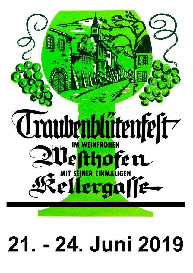 Plakat Traubenblütenfest 2019